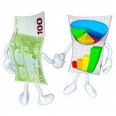Money Business Report Handshake