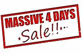Massive Four Days Sale