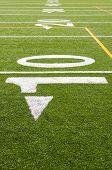10 yard line