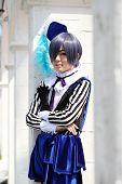 Japanese anime character cosplay girl