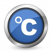 celsius icon temperature unit sign