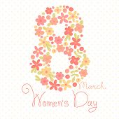 Card Womens Day on March 8