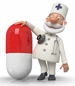 The Doctor With Medicine