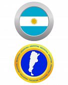 Button As A Symbol  Argentina