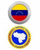 Button As A Symbol  Venezuela