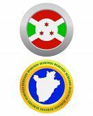 Button As A Symbol Burundi
