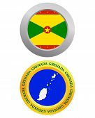 Button As A Symbol Grenada