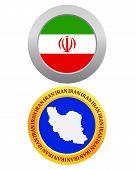 Button As A Symbol Iran