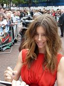 Jessica Biel At A Team Premiere In Central London 27Th July 2010