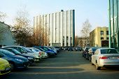 Vilnius City Center At Autumn Time On November 11, 2014