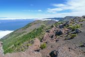 View over the west of El Hierro