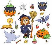 Cute Halloween Set