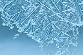 picture of frozen  - Frozen glass - JPG