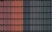 pic of roof tile  - Different types of roof tiles side by side - JPG