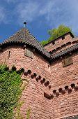 The Chateau Du Haut Koenigsbourg In Alsace