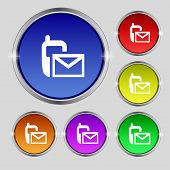 picture of sms  - Mail icon - JPG