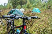Camp cyclists.