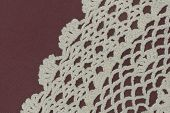 pic of doilies  - Antique handmade lace doily - JPG