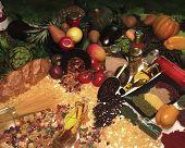 Постер, плакат: органические продукты питания
