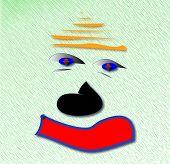 Auburn Sad Clown.