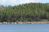 pic of errat  - Lake Hoeljessjoen between Sweden and Norway . ** Note: Soft Focus at 100%, best at smaller sizes - JPG