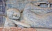 Polonnaruwa Gal Vihara, Sri Lanka