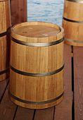 Woden barrels