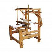 Ancient wooden loom