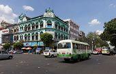 Street Scene Yangon