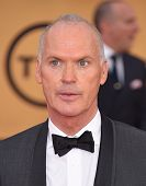 LOS ANGELES - JAN 25:  Michael Keaton arrives to the 21st Annual Screen Actors Guild Awards  on January 25, 2015 in Los Angeles, CA