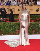 LOS ANGELES - JAN 25:  Laverne Cox arrives to the 21st Annual Screen Actors Guild Awards  on January 25, 2015 in Los Angeles, CA