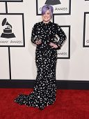 LOS ANGELES - FEB 08:  Kelly Osbourne arrives to the Grammy Awards 2015  on February 8, 2015 in Los Angeles, CA