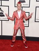LOS ANGELES - FEB 08:  Frankie J. Grande arrives to the Grammy Awards 2015  on February 8, 2015 in Los Angeles, CA