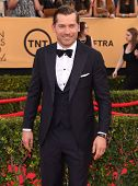 LOS ANGELES - JAN 25:  Nikolaj Coster-Waldau arrives to the 21st Annual Screen Actors Guild Awards  on January 25, 2015 in Los Angeles, CA