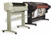 impressoras de jacto de tinta de grande formato