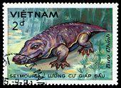 Vintage  Postage Stamp. Seymouria.