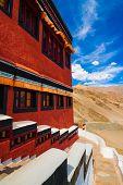 Inside Thikse Buddhist Monastery, Ladakh, Northern India