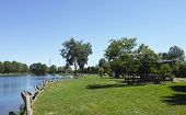 picture of sole  - photo of lago del sole lake near Massa during summer time  - JPG