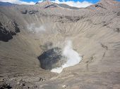 pic of bromo  - Detail from Mount Bromo at Java in Indonesia - JPG
