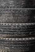 Old Worn Out Tires