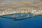 Caleta De Sebo Town On Graciosa Island, Canary Islands, Spain