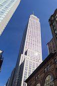 Empire State Building Framed