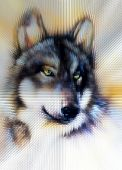 pic of werewolf hunter  - Wolf illustration - JPG