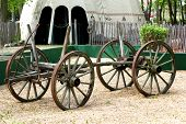 picture of cart  - Vintage Horse Buggy - JPG