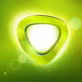 picture of applique  - Summer curve form applique background - JPG
