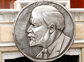Vladimir Lenin stamping