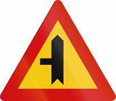 picture of priorities  - Icelandic danger warning sign - JPG