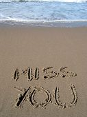 image of miss you  - words  - JPG