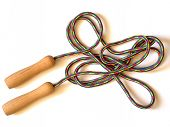 picture of skipping rope  - isolated skipping - JPG