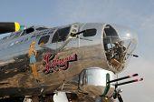 World War II Era Flying Fortress Bomber